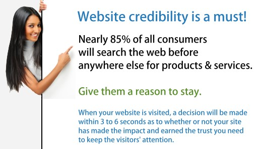 Quality Web Design for Ultimate Credibility