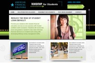 Web Development for Student Loan Assistance Company